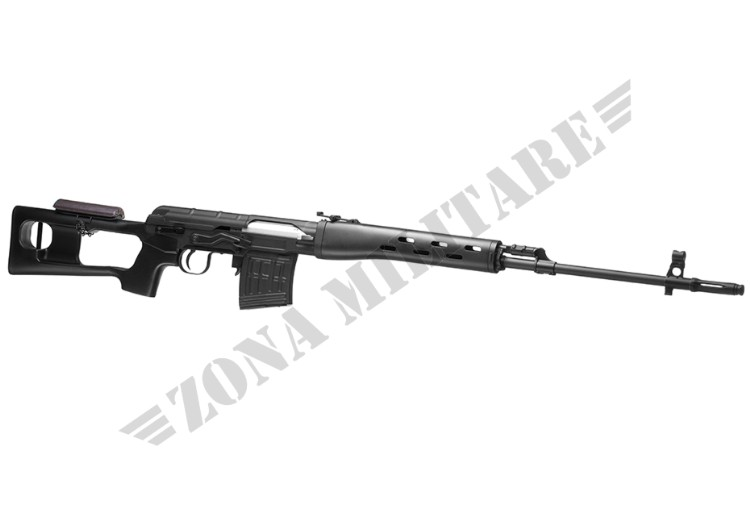 FUCILE MARCA AIM MODELLO SVD DRAGUNOV BLACK CO2