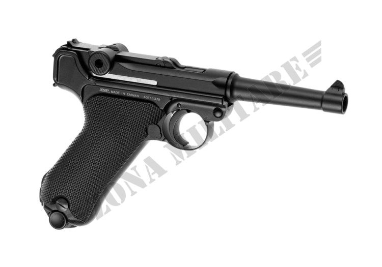 PISTOLA MARCA WE MODELLO LUGER P08 METAL BLACK