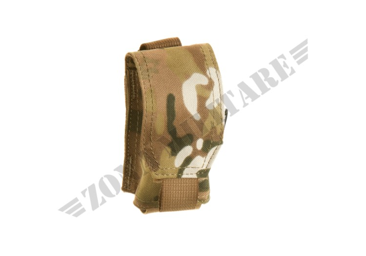 SINGLE 40MM GRENADE POUCH INVADER GEAR MULTICAM COLOR