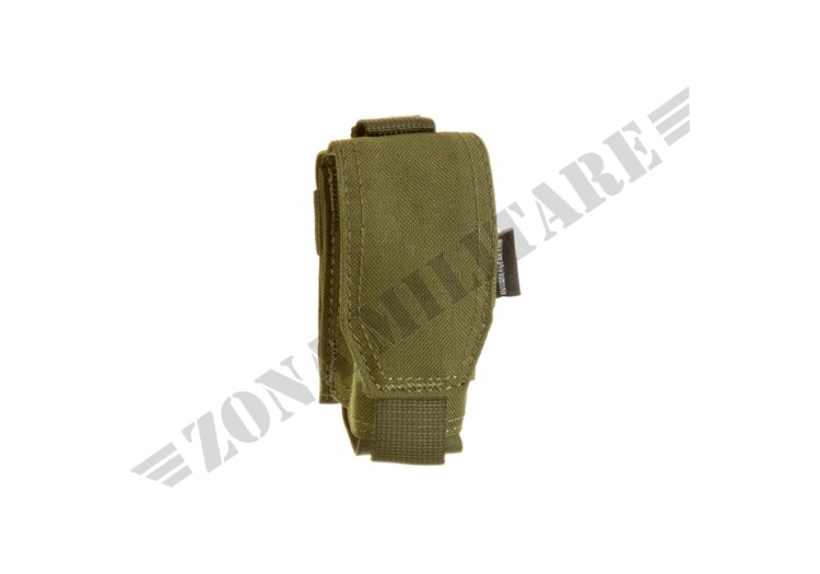 SINGLE 40MM GRENADE POUCH INVADER GEAR OD GREEN COLOR