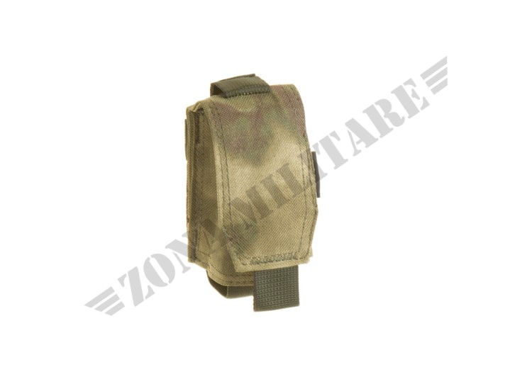 SINGLE 40MM GRENADE POUCH INVADER GEAR EVERGLADE COLOR