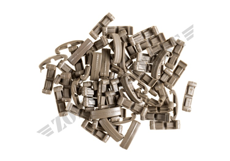 COPERTURA RIS INDEX CLIPS 60PCS FMA DARK EARTH