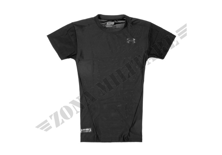 TACTICAL HEATGEAR COMPRESSION TEE UNDER ARMOUR BLACK