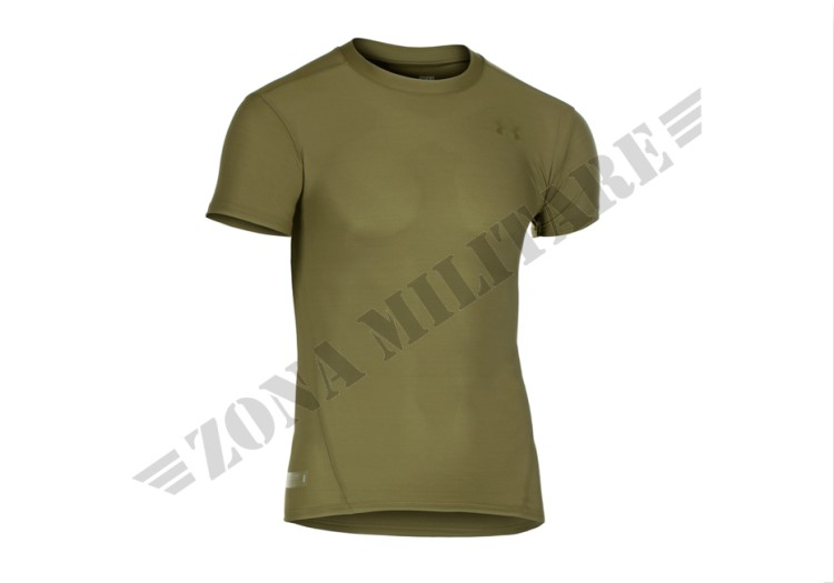 TACTICAL HEATGEAR COMPRESSION TEE UNDER ARMOUR OD GREEN