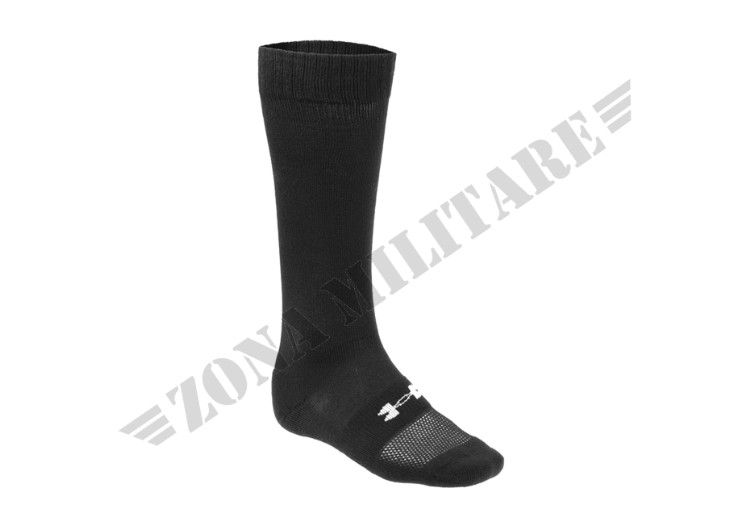 CALZA UA HEATGEAR BOOT SOCK UNDER ARMOUR BLACK