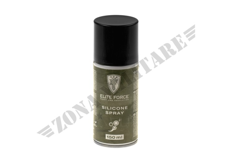 SILICONE SPRAY 150ML ELITE FORCE