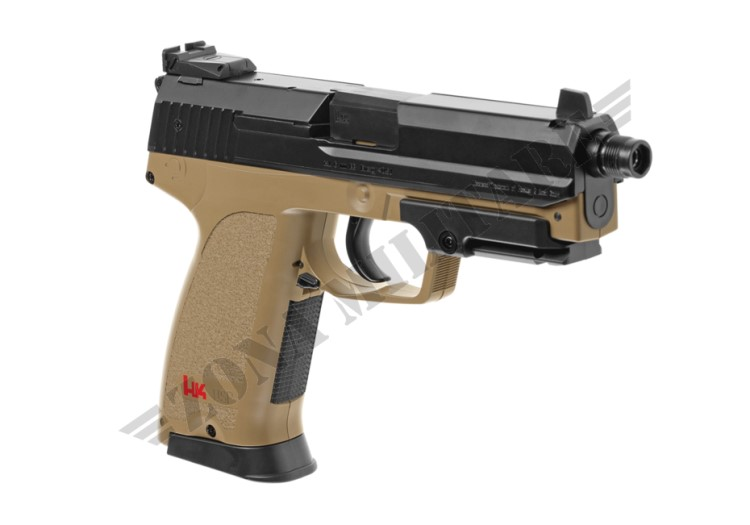 PISTOLA USP TACTICAL METAL VERSION AEP HECKLER & KOCH DESERT