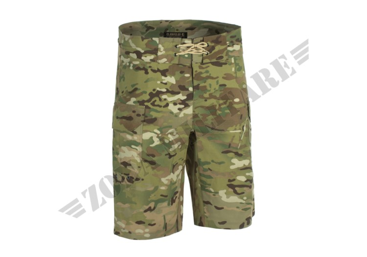 BERMUDA MARE SHORT PANTS OFF-DUTY CLAWGEAR MULTICAM