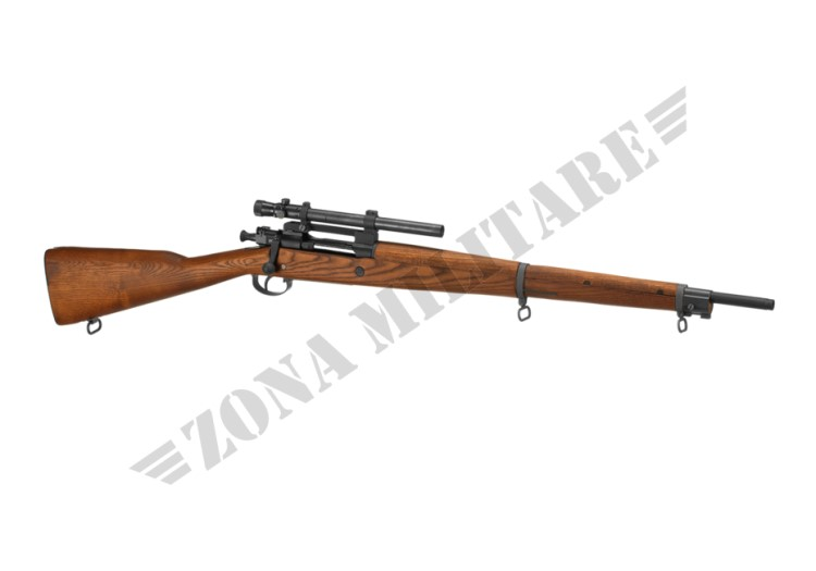 FUCILE M1903 A4 CO2 G&G REAL WOOD AND METAL