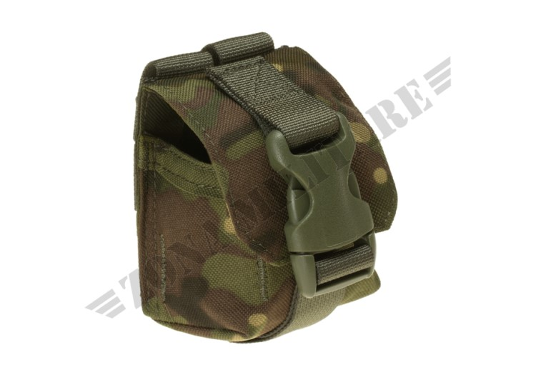 FRAG GRENADE POUCH INVADER GEAR WOODLAND COLOR