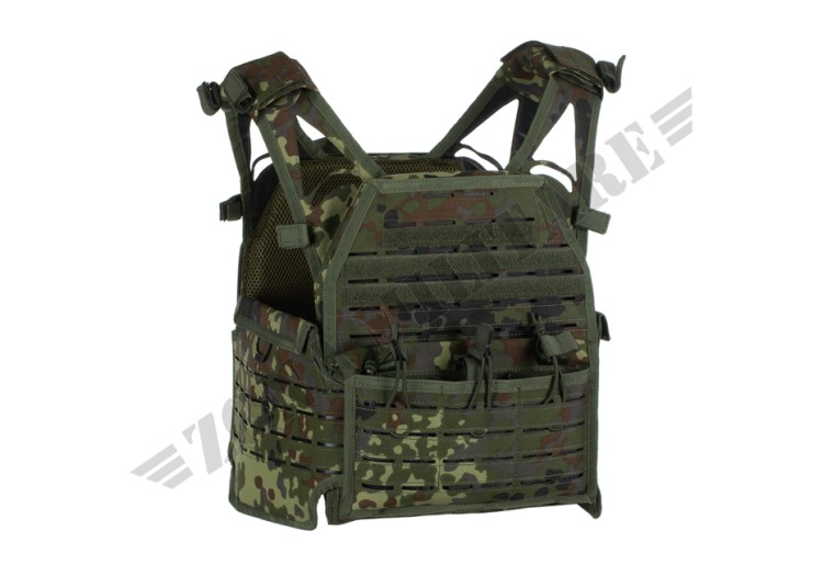 TATTICO REAPER PLATE CARRIER INVADER GEAR FLECKTARN