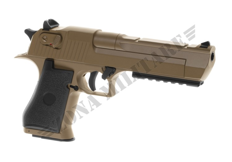 PISTOLA DESERT EAGLE .50 AE AEP CYMA COLORE TAN