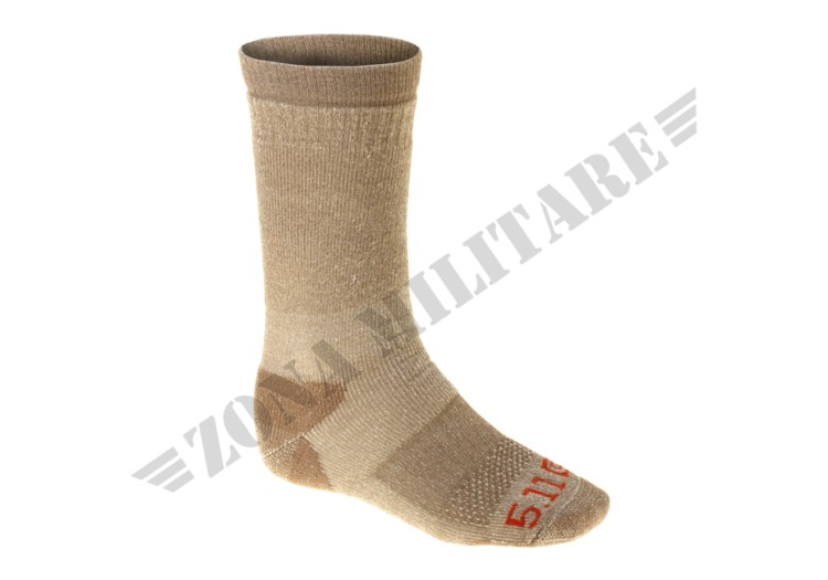 COLD WEATHER OTC SOCKS 5.11 TACTICAL COYOTE