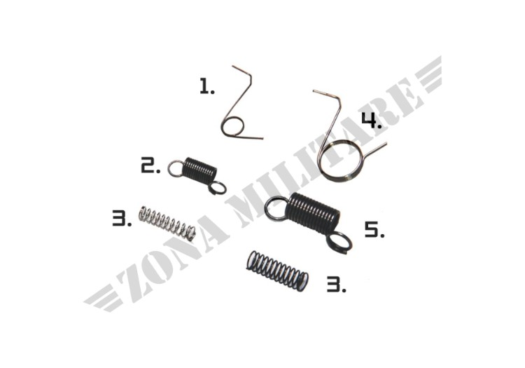 KIT MOLLE PER GEARBOX SPRING SET ELEMENT