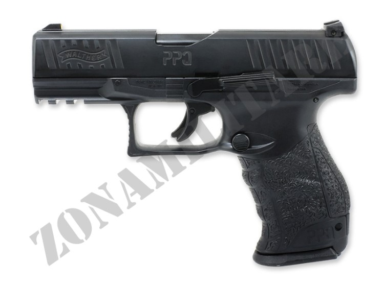 PISTOLA T4E WALTHER M2 PPQ CAL.43 BLACK VERSION