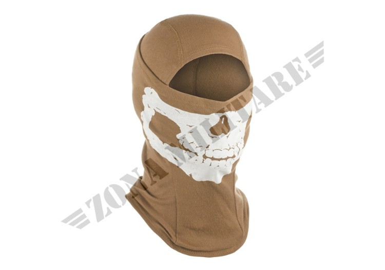 MPS DEATH HEAD BALACLAVA INVADER GEAR TAN