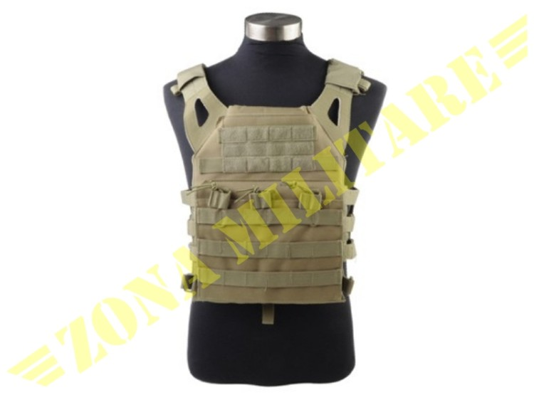 TACTICAL VEST JPC 1000 D TAN VERSION