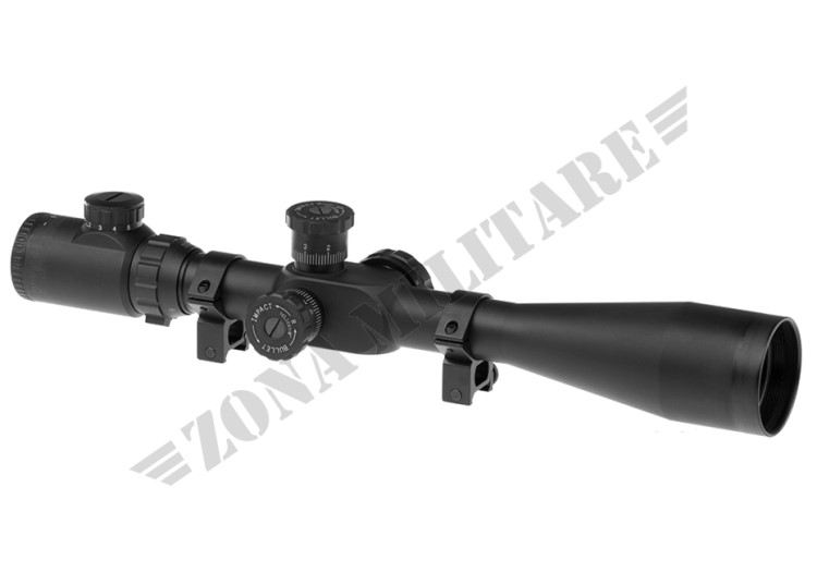 OTTICA 8-32X50E-SF SNIPER RIFLE SCOPE BLACK AIM-O