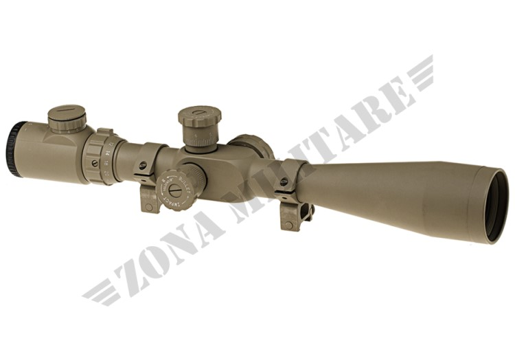 OTTICA 8-32X50E-SF SNIPER RIFLE SCOPE DESERT AIM-O