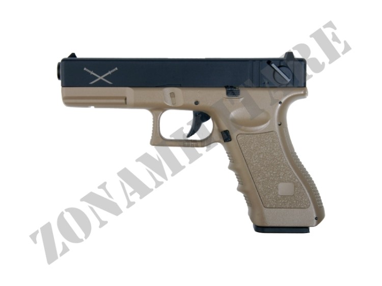 PISTOLA ELETTRICA YAKUZA TAN VERSION LIPO VERSION HI SPEED