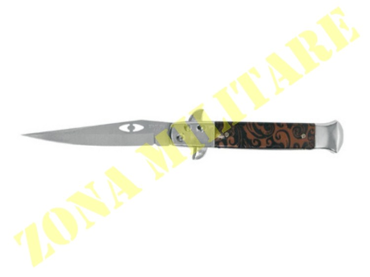 COLTELLO ROYAL A SCATTO MANICO ABS E METALLO