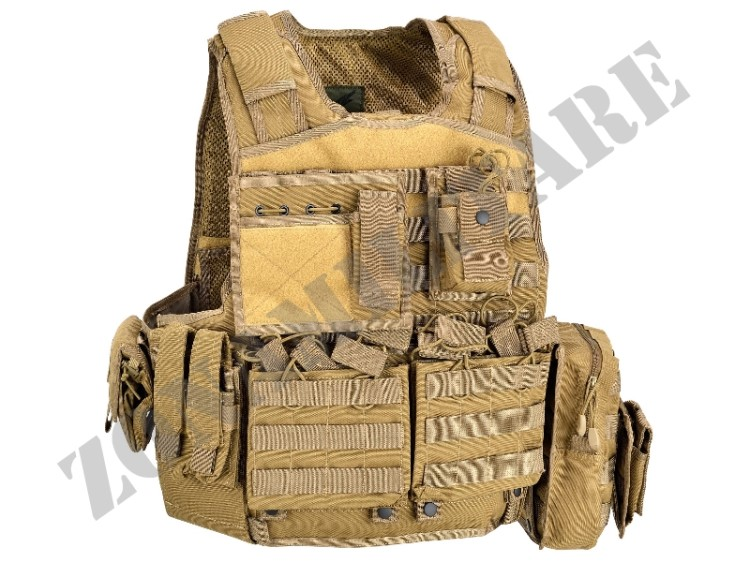 TATTICO BODY ARMOUR CARRIER DEFCON5 COYOTE