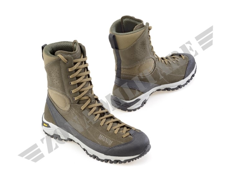 ANFIBIO APPROACH TACTICAL 8 HIGH HEIGHT LEATHER VERDE