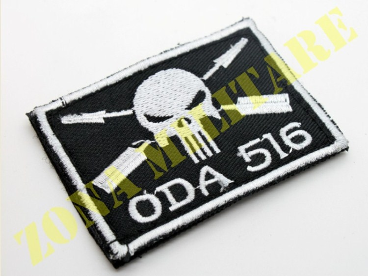 PATCH NERA CON VELCRO PUNISHER ARROW ODA 516