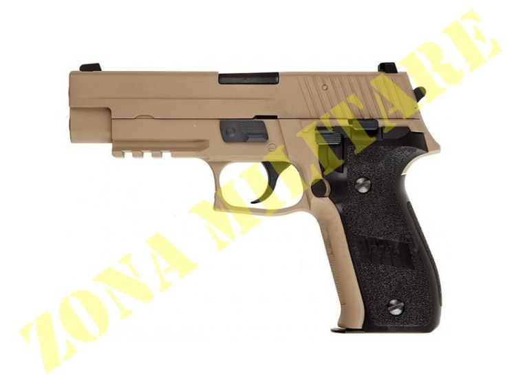 PISTOLA MARCA WE GAS MODELLO MK25 TAN FULL METAL