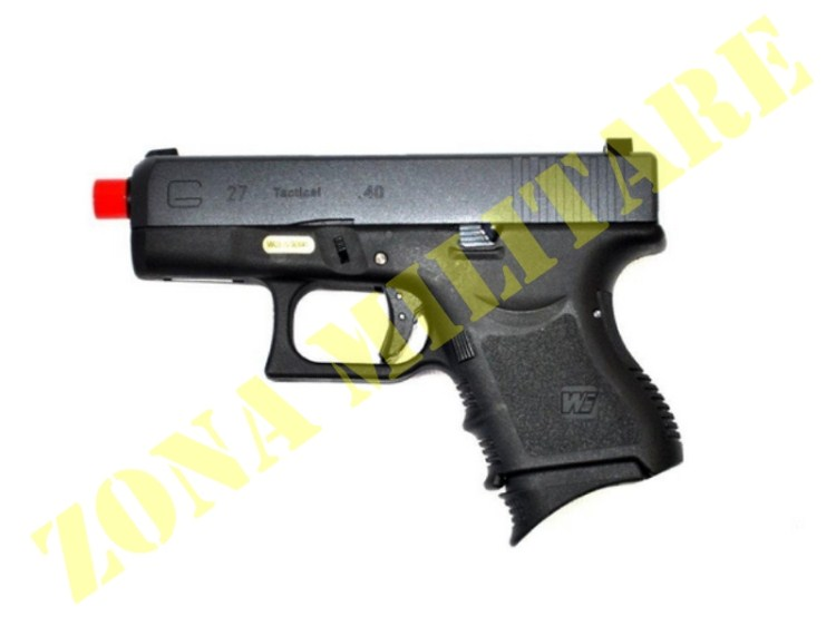 PISTOLA MARCA WE A GAS MODELLO GLOCK 27 METAL