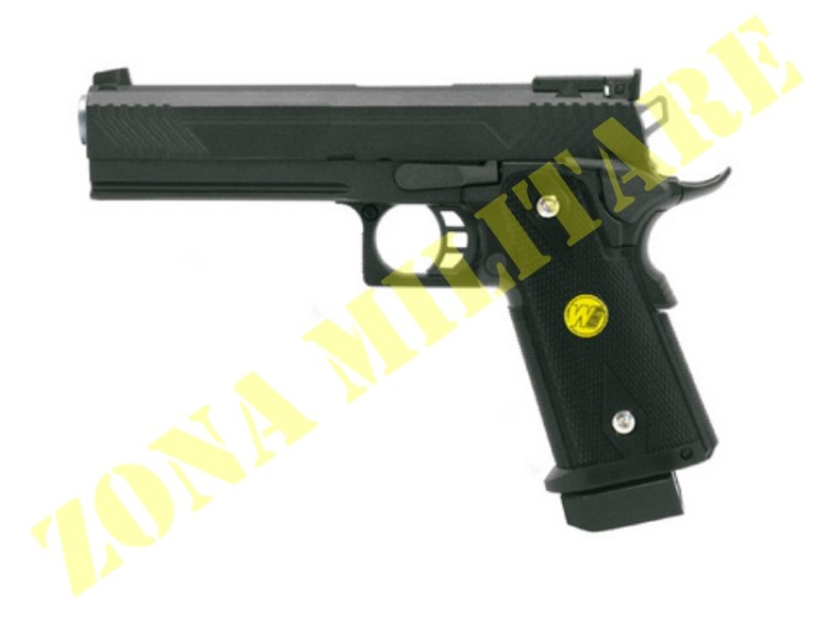 PISTOLA MARCA WE MODELLO HI-CAPA 5.1 GAS METAL
