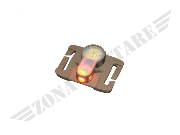 COMPACT LED STROBE MARKER MOLLE DARK EARTH ORANGE