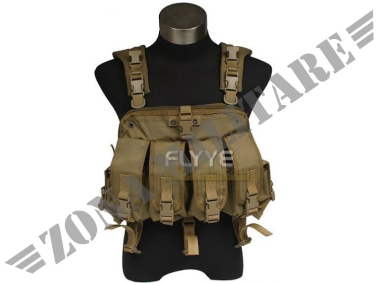 FLYYE PATH-FINDER CHEST HARNESS COYOTE BROWN