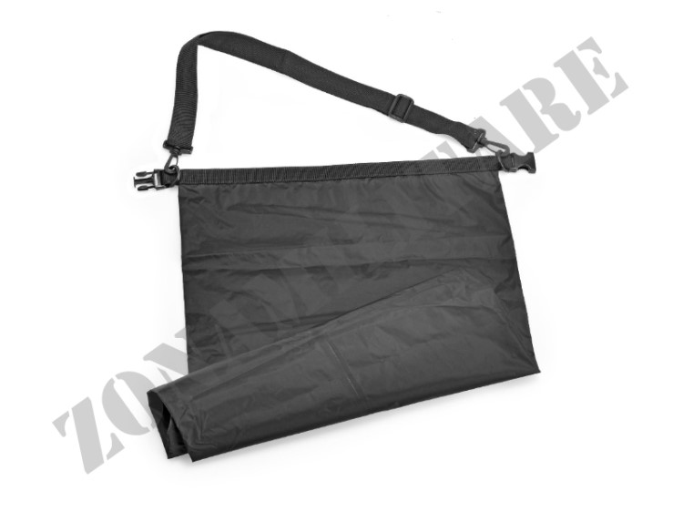 SACCO STAGNO WATERPROOF DRY BAG 60 LITRI OUTAC DEFCON 5 NERO