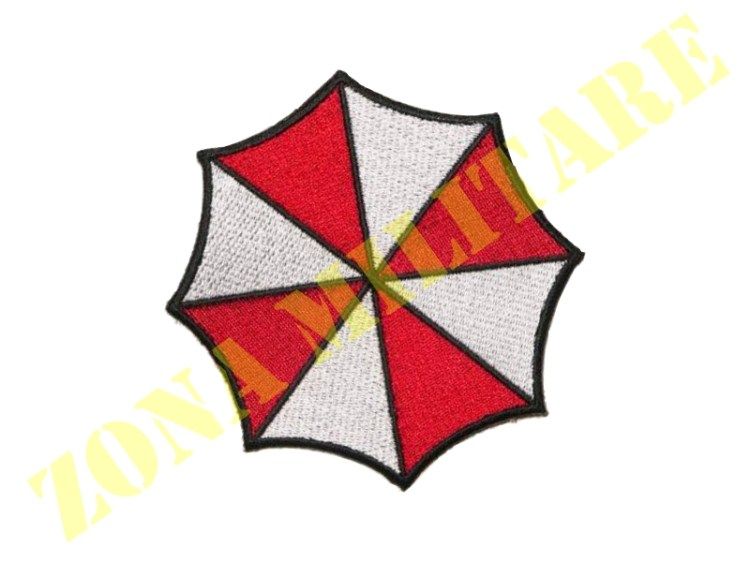 PATCH RICAMATA CON VELCRO UMBRELLA INC. GRANDE