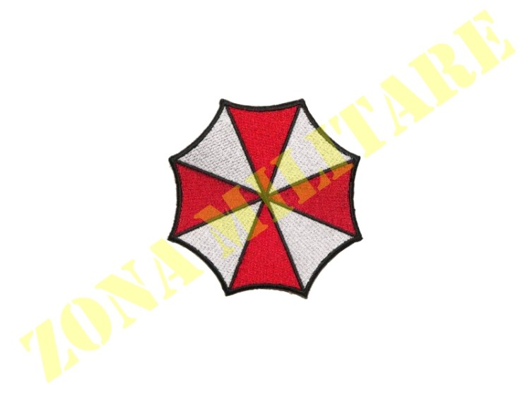 PATCH RICAMATA CON VELCRO UMBRELLA INC. PICCOLA