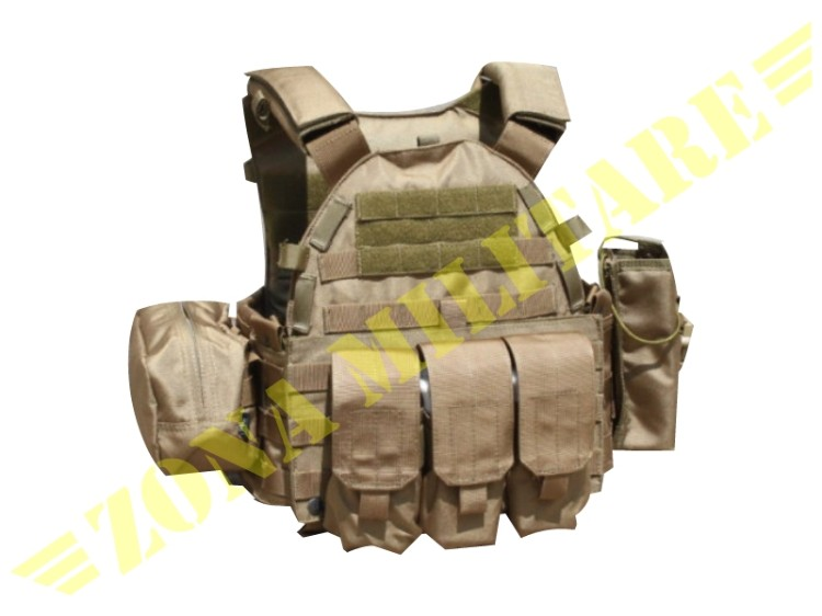 PLATE CARRIER EVOLUTION GEAR COYOTE BROWN