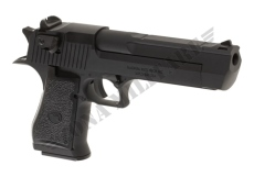 PISTOLA DESERT EAGLE 50 AE FULL METAL GAS WE BLACK