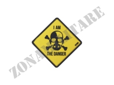 PATCH GOMMATA I AM THE DANGER CON VELCRO