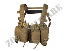 TACTICAL VEST DIRECT ACTION HURRICANE HYBRID CHEST RIG COYOTE BROWN