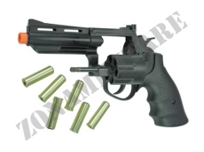 REVOLVER GAS HFC CANNA DA 4'' COLORE BLACK