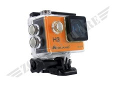 VIDEOCAMERA MIDLAND MODELLO H3 ORANGE VERSION